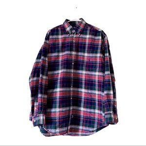 Ralph Lauren cotton button down flannel shirt